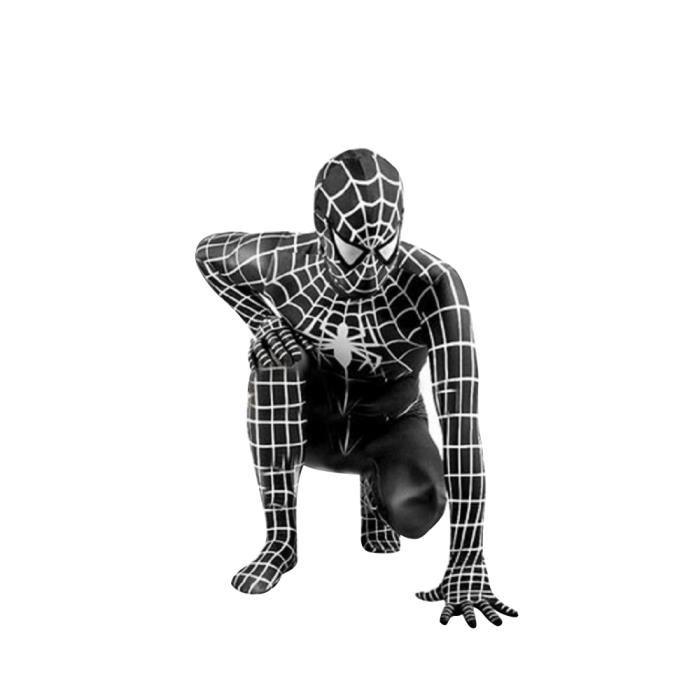 deguisement spiderman noir