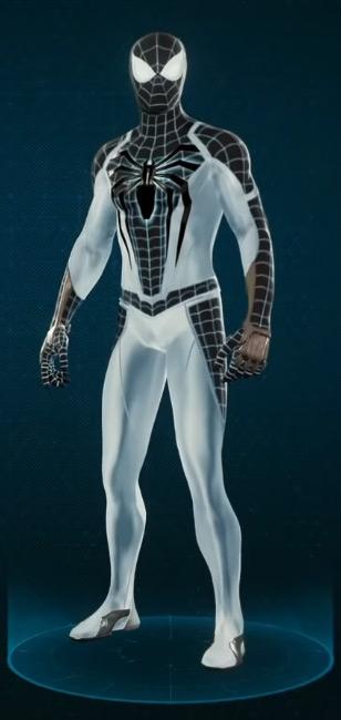 deguisement spiderman ps4