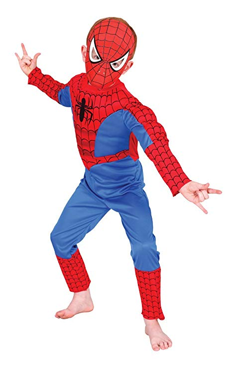 deguisement spiderman rembourre