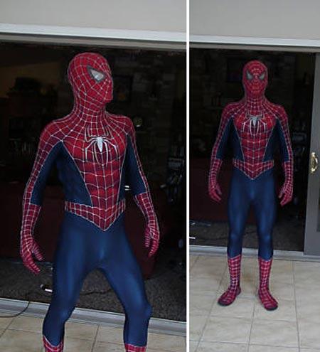 deguisement spiderman replica