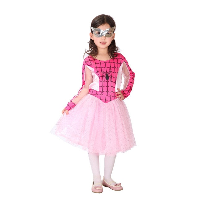 deguisement spiderman rose