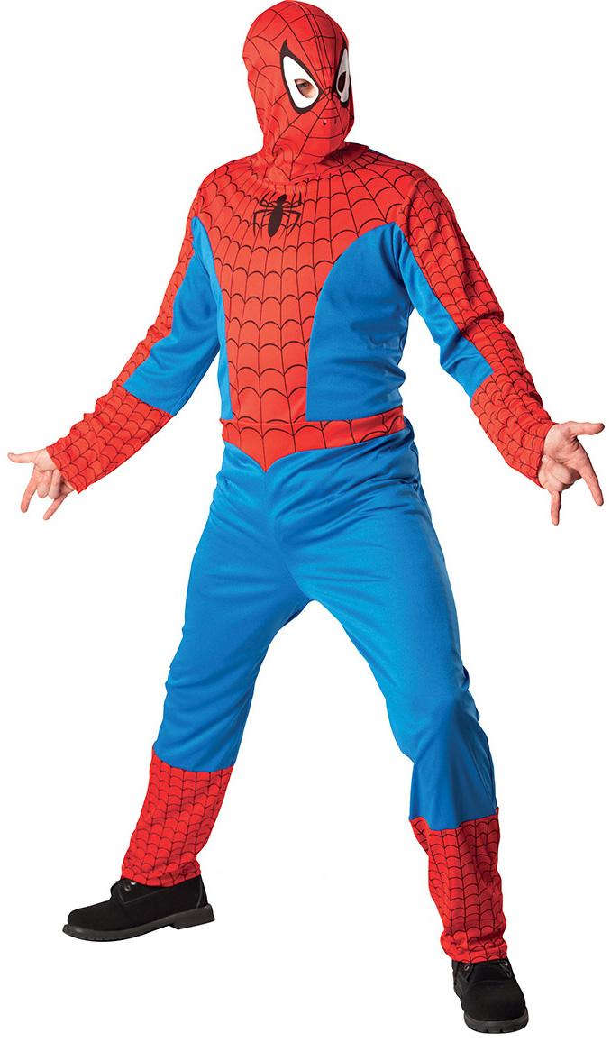 deguisement spiderman vert